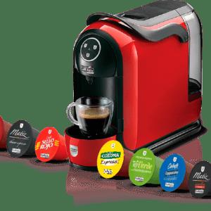 Máquina para capsulas de café