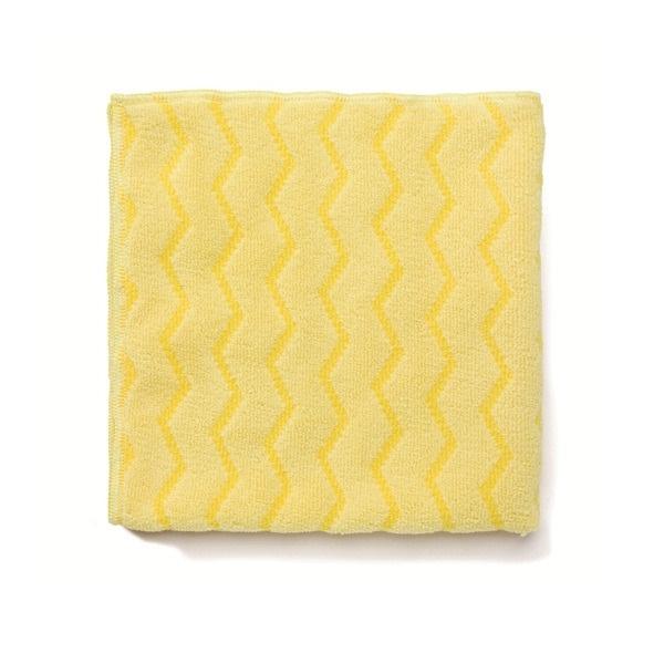 Paños de Microfibra Amarillos Rubbermaid domicilios
