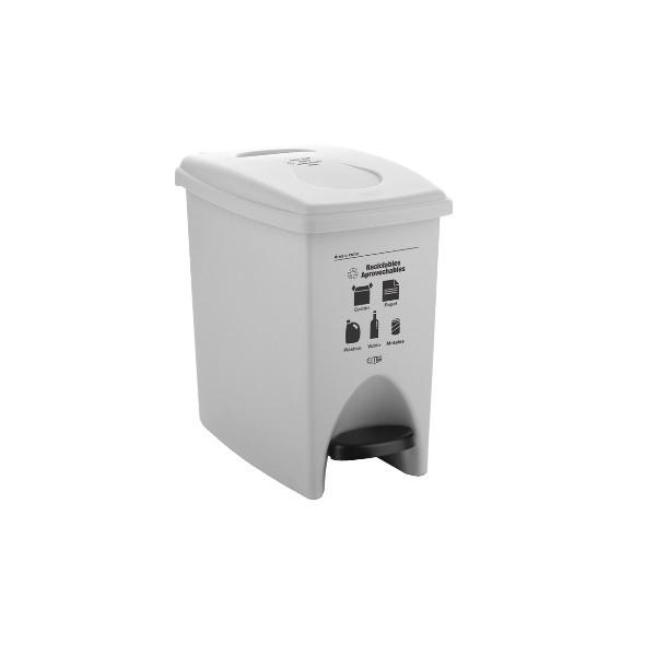 papelera-blanca-de-pedal-10-litros-aprovechables-estra