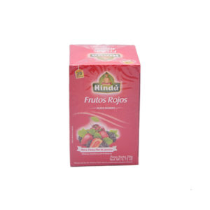 Aromáticas infusiones de frutos rojos Hindú