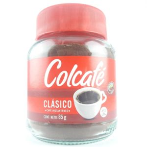 Cafe en polvo instantáneo colcafe en frasco
