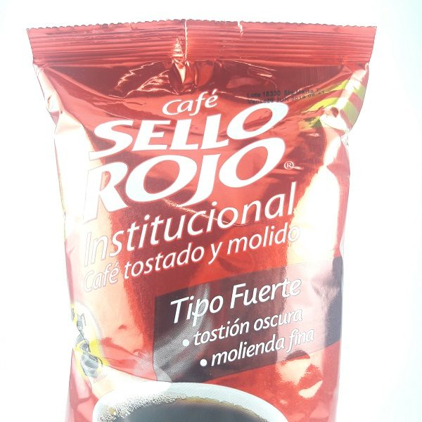 Cafe sello rojo.