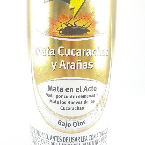 Mata cucarachas raid en spray.
