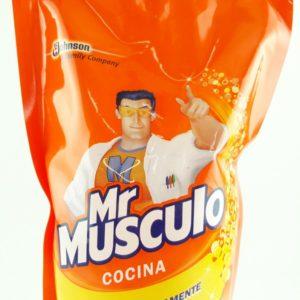 Desengrasante de cocina por 500ml Mr musculo.