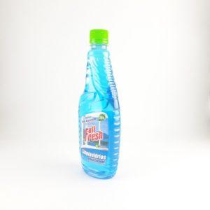 Liquido para limpiar vidrios.