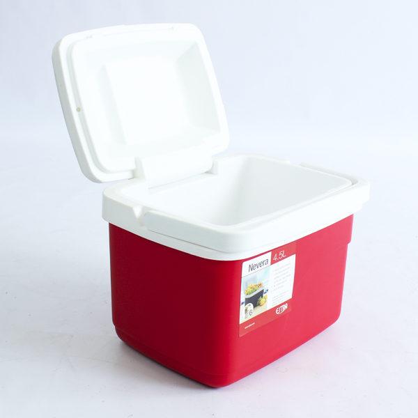 Neveras rojas de 4.5 litros estra