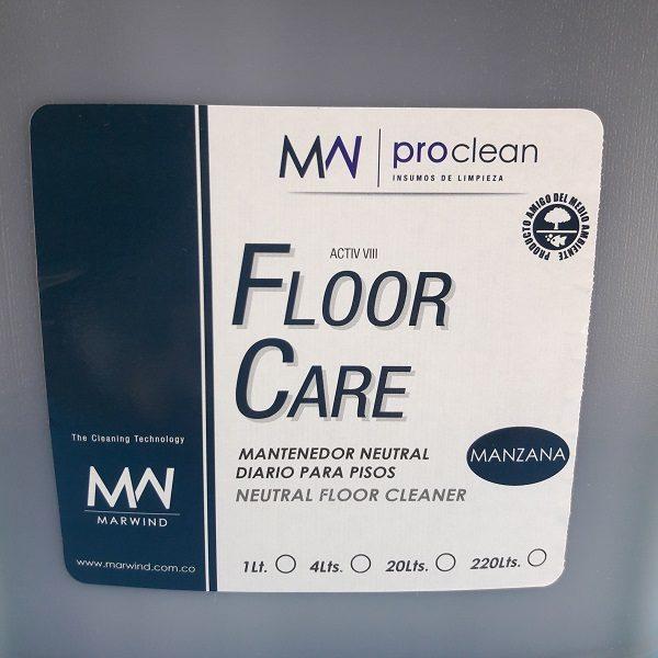 Mantenedor de brillo para para piso de granitos Floor Care.