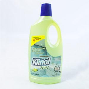 Limpiador desinfectante concentrado klinol por un litro barranquilla