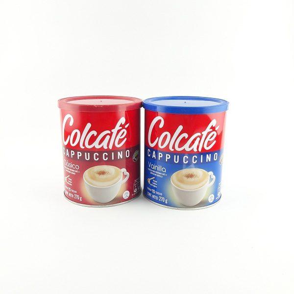 Cappuccino en polvo colcafé.