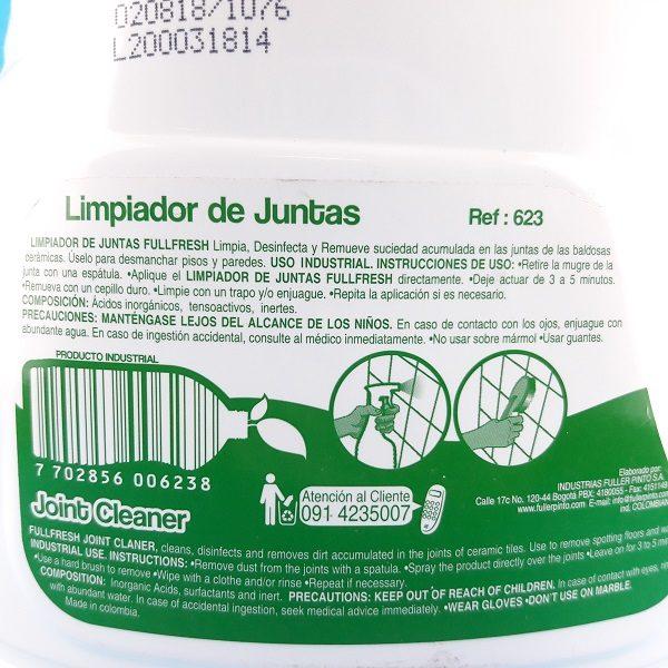 limpiador para juntas fuller catalogo