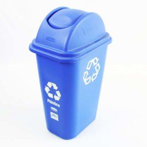 Canecas grande de 39 litros para reciclar plástico