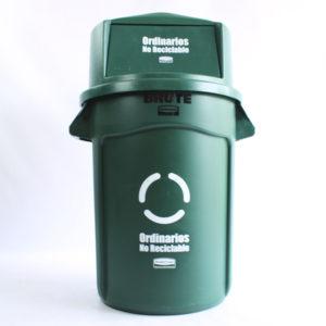 Contenedor 121 Litros Verde Rubbermaid barranquilla