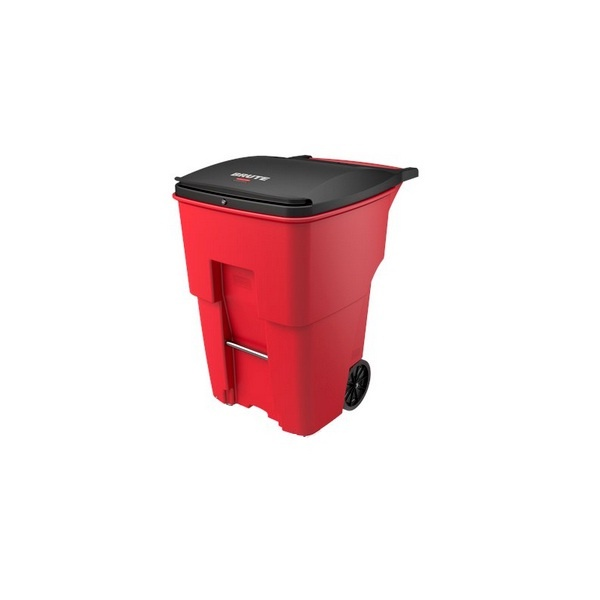 contenedor-rubbermaid-con-ruedas-rojo