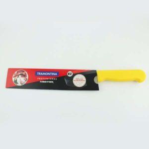 cuchillos profesionales mango amarillo d