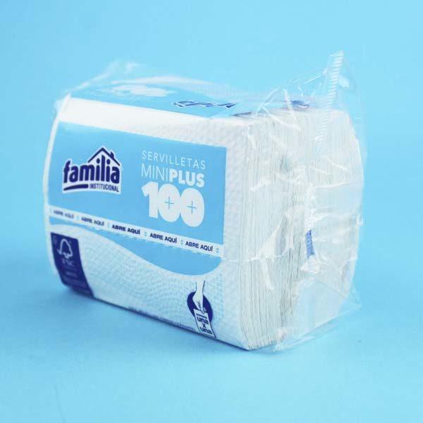 Servilletas mini plus por 100 unidades Barranquilla