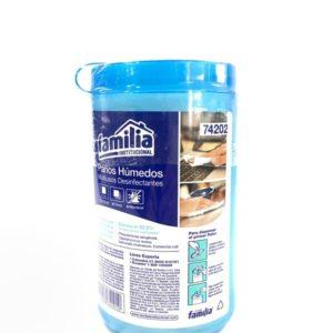 Paños Humedos Desinfectantes Familia por 60 toallas domicilios