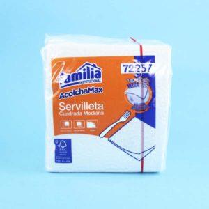 servilletas cuadradas medianas por 100 unidades familia Barranquilla
