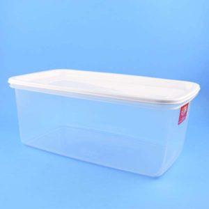 Recipiente rectangular plastico estra