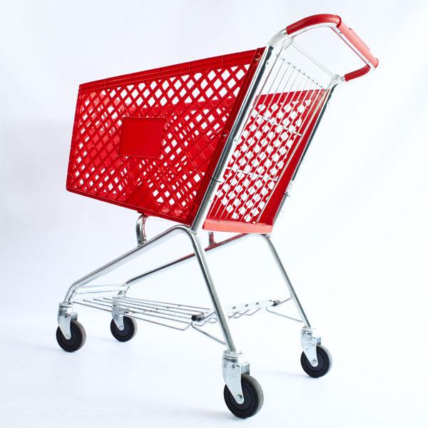 Carro para supermercado teknum