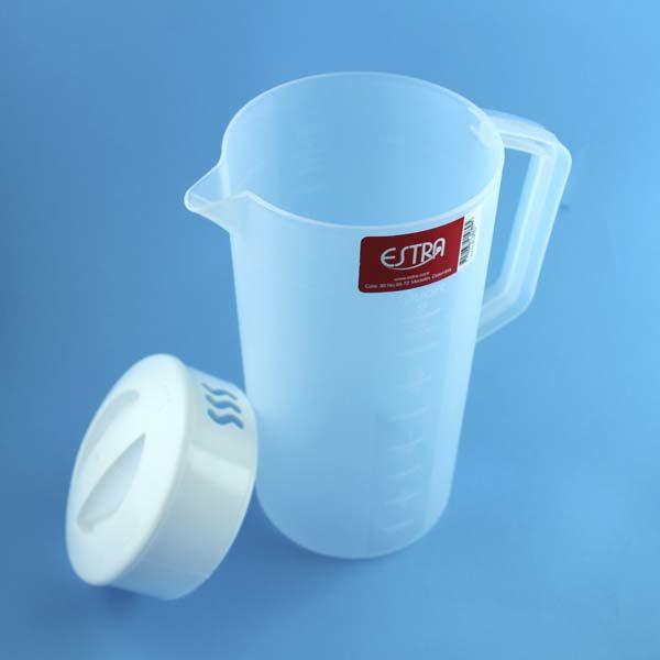 jarra plastica transparente 2 litros