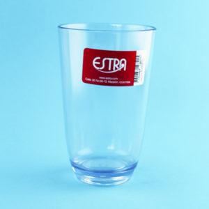 vaso en acrílico transparente 16 onzas