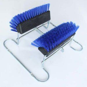 Estación de cepillos de limpieza de calzado domicilios