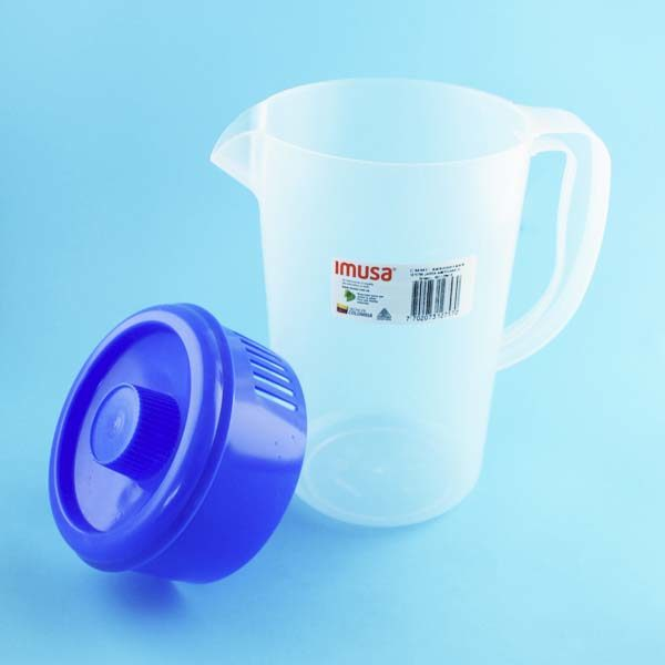 Jarra transparente de 2 litros