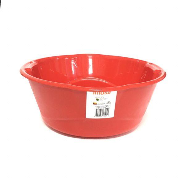Poncheras Redonda Plástica de 6 litros Roja Imusa domicilios