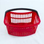 Canastas de mano para supermercados estra