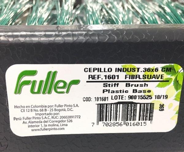 Cepillos industriales fibra suave precio