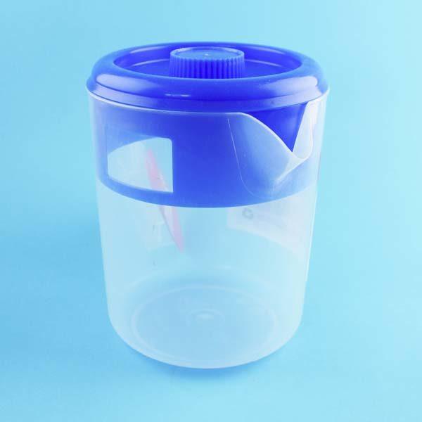 Jarra transparente plástica