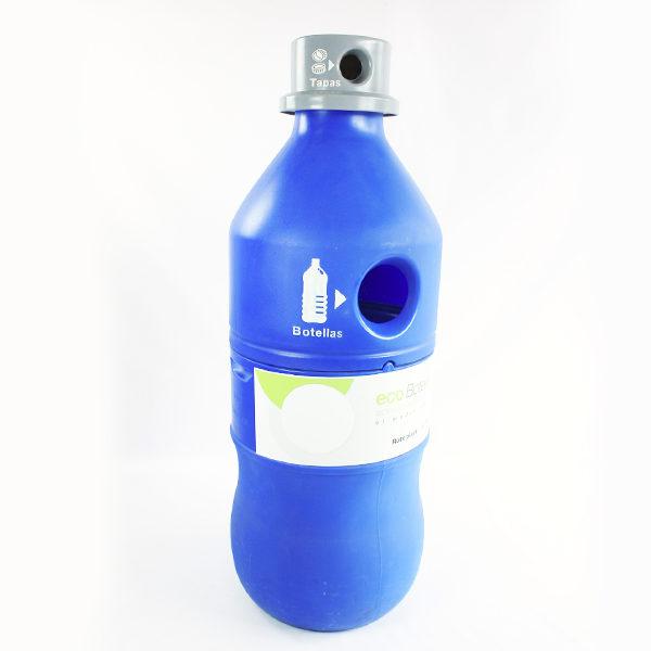 Punto ecológico para botellas y tapas estra barranquilla