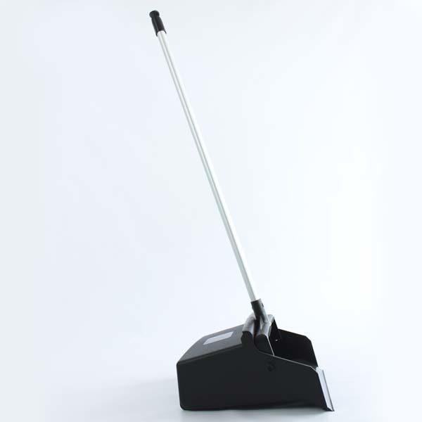 recogedor negro industrail con mango de aluminio domicilio