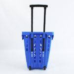 Canasta plástica con ruedas rimax