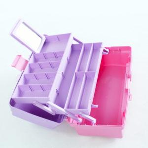Caja organizadora portátil plástica rimax
