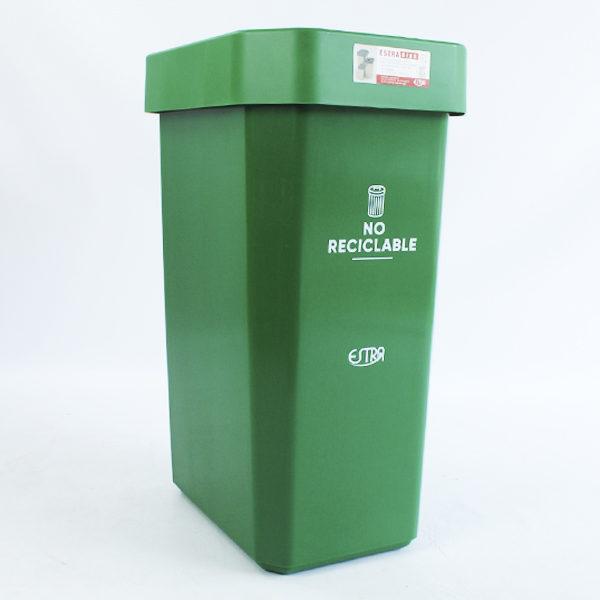 Canecas verde de 53 litros estra