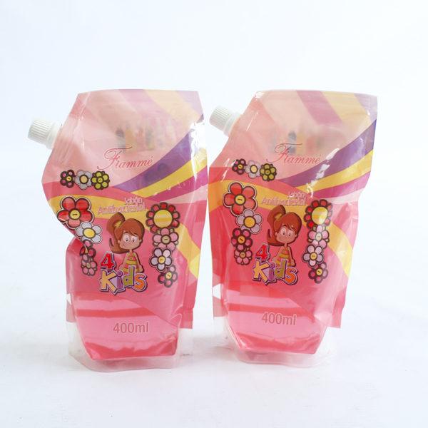 Jabón antibacterial repuesto para niños y niñas por 400 ml