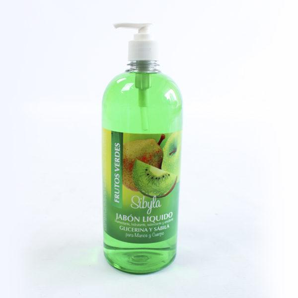 jabón liquido frutos verdes litro barranquilla