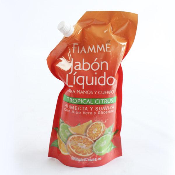 Jabón liquido tropical citrus fiamme barranquilla