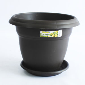Materas plásticas redonda de 35 centímetros rimax barranquilla