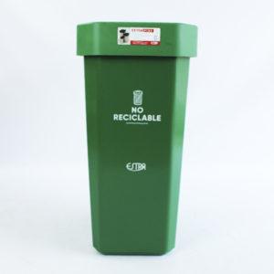 Papeleras plásticas de 53 litros Estra