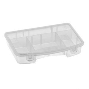 Caja organizadora plástica transparente rimax