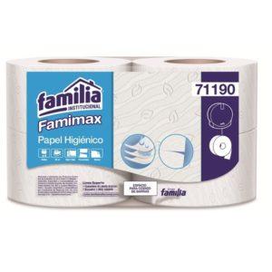 papel higiénico triple hoja color blanco para dispensador familia barranquilla