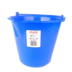 Baldes Plásticos Pequeños Color Azul Marca Imusa