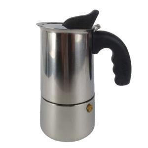 Cafétera Italiana En Acero Inoxidable Para Expresso Marca Primula