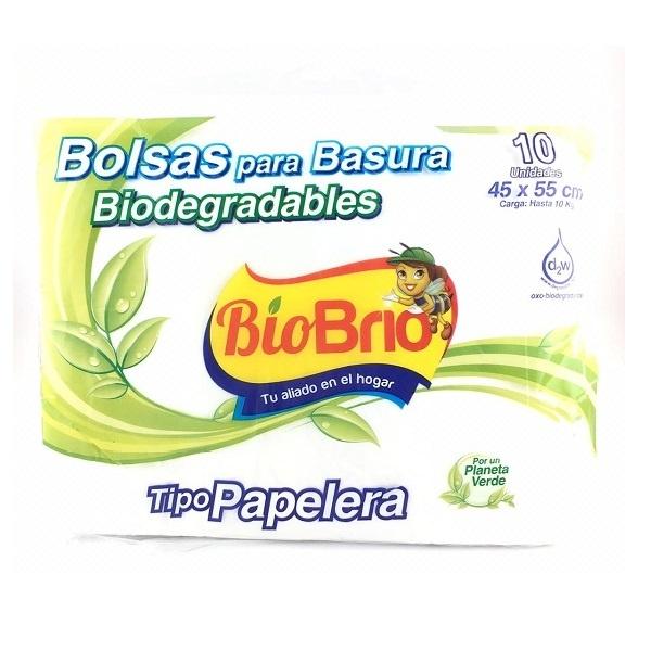 Bolsas Para Basura Biodegradables