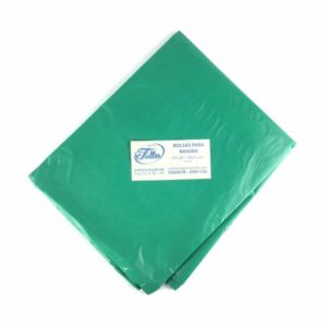 Bolsas Plásticas Verde Residuos Ordinarios