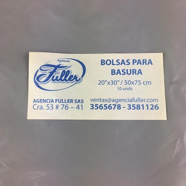 Bolsas Por 10 Unidades Color Gris Barranquilla