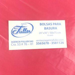 Bolsas Para Basura Roja Barranquilla