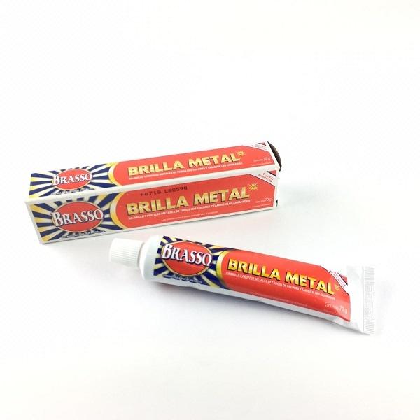 Brilla Metal en crema para Metales de todos los colores y cromados Domicilios